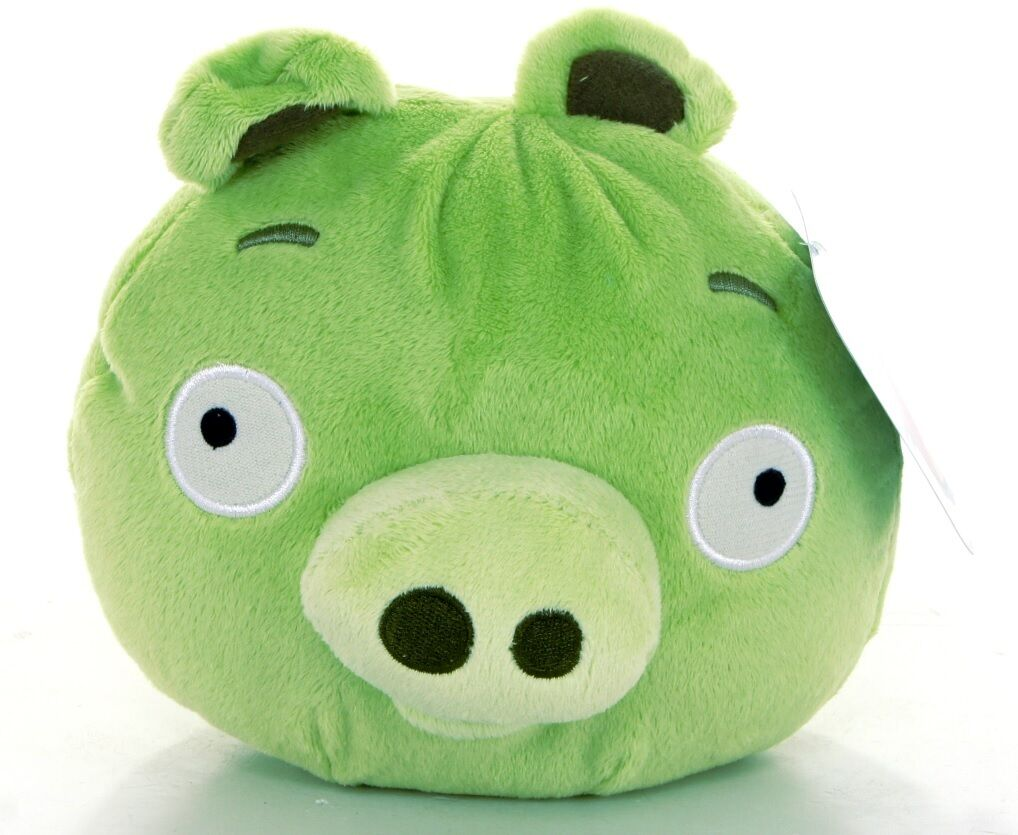 Official new 8 green angry bird from angry birds collection plush soft toy ebay - Angry birds toys ebay ...