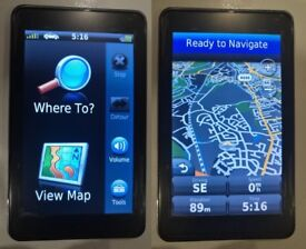 GARMIN Nuvi 3710 GPS Sat Nav Ultra-slim Line UK & Ireland + Iceland & Nordics Scandinav (no offers)