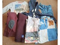 Boys clothes age 3 from Next, River Island and Asda