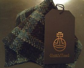Stunning Mens Fashion Pocket Square sale now on. Hand crafted in Harris Tweed Ideal for Wedding suit