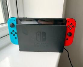 New version Nintendo switch with Mario kart