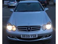 2009 Mercedes CLK 220 £4750