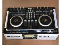 Numark Mixtrack Pro Quad Dj Controller Boxed with leads & manual