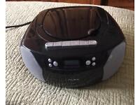 Alba Black portable CD/radio player