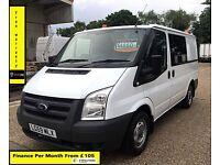 SALE SALE!! Ford Transit Van 2.2 300-1 Owner-EX BT, 66K Miles ,FSH -8 Stamps, 1YR MOT,Elec Windows