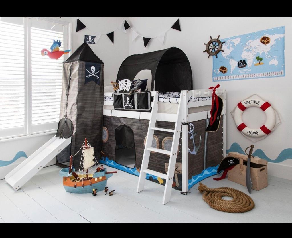 Pirate Bed With Slide Tunnel And Tower Brand New In Carluke