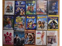 DVDs for 80p each. 15 available all for £11 ono