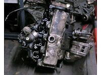 Toyota Surf/Hilux 2.4 Cylinder Head with Turbo & Inlet Manifold with Injectors, 1996-97