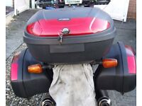Motorcycle Hard Luggage - Top Box & Panniers