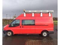 13 Ford Transit 300 LWB Hi-Top Crew Van