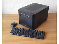 Phenom II X4 910e CPU (2.6GHz) Fractal Core 500 mini-ITX PC Base Unit