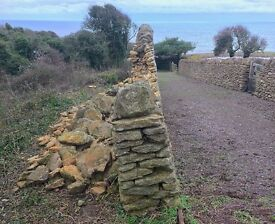 Site Labourer: Landscaping - dry stone walling repair, stone paving & general labouring