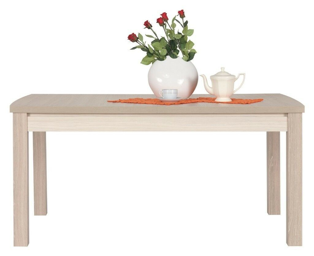 Extendable Dining Table In Thuja And Jasmine Gloss Colour Brand New