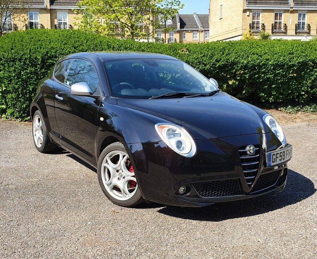 Alfa Romeo Mito Black Excellent Condition And Very Low Mileage