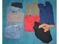 Lightly Used Bundle Of Maternity Clothes Size 16-18 UK