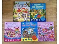 Childrens Usborne See Inside Fairyland hardback & other Who's Hiding books boys & girls