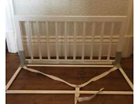 BabyDan Wooden Bed Guards White X2