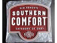 M.W. Heron's Southern Comfort Thick Rubber Bar Mat (NEW)