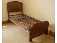 1930's Oak Single bed
