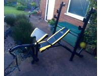 Marcy Bruce Lee Signature bench & rack