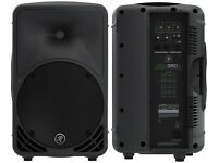 Almost NEW Mackie SRM350 V3 Speaker (price per pair) only 6 months old used twice...