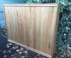 Large Solid Oak Room Divider, Excellent !