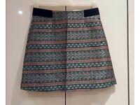 Short Oliver Bonas skirt size 10