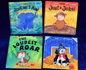 Bundle of Children's Soft Textured, Pop-Up and Shiny Animal Story Books