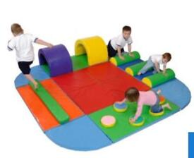 Soft play assault course