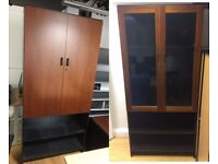 2 x Quality Cupboards for Office