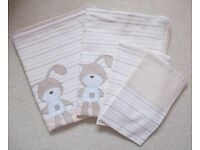 Cot Bed Duvet Cover & Pillowcases x 2 Sets