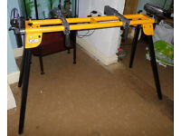 COMPOUND MITRE EXTENDABLE SAW STAND