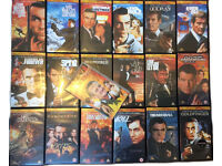 18 James Bond Movies (VHS) +Bonus Film Free