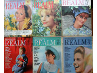 Bulk lot of vintage Woman's Realm magazines - mainly 1960s