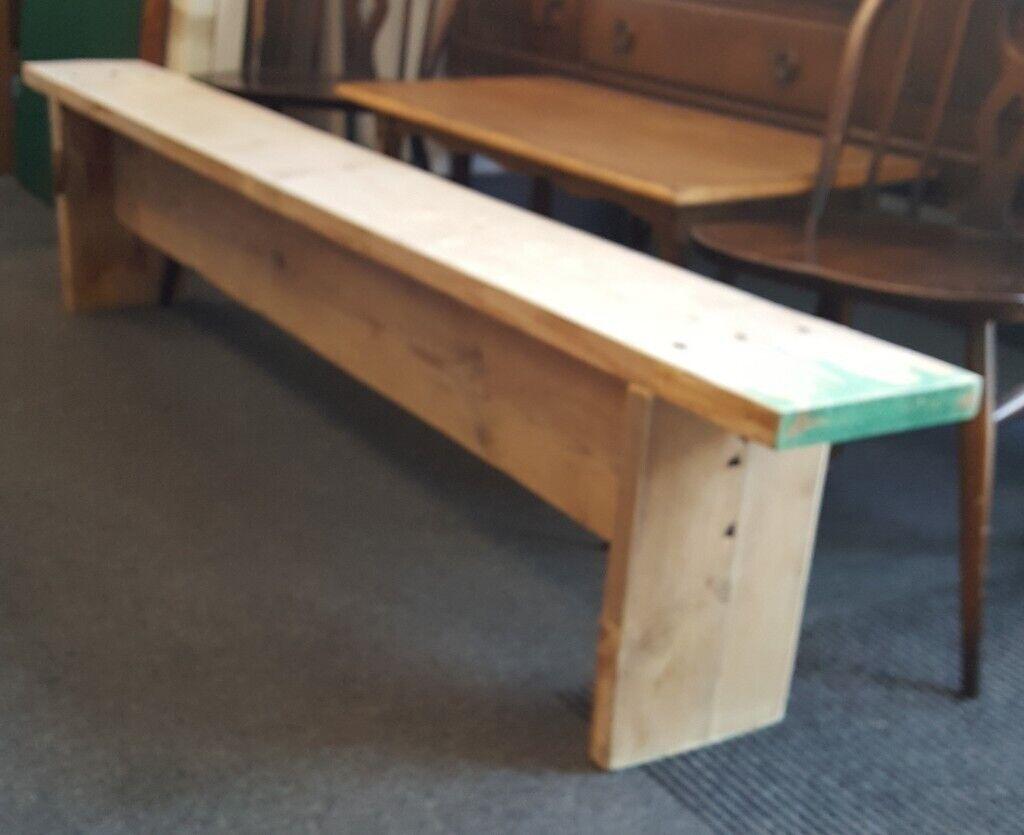 Magnificent Bench Made From Reclaimed Wood In Leith Edinburgh Gumtree Creativecarmelina Interior Chair Design Creativecarmelinacom