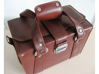 CAMERA CASE - LARGE, HEAVY DUTY CASE. 31 x 21 x 18 cms EXTERNAL MEASUREMENTS £8 ONO