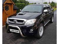 July 2011 Toyota Hilux3.0 INVINCIBLE D-4D 4X4