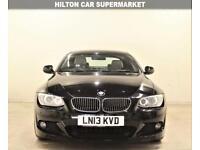 BMW 3 SERIES 2.0 320D SPORT PLUS EDITION 2d 181 BHP SAT NAV + AIR CON + LEATHERS (black) 2013