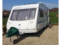 Stirling Eccles Moonstone 4 berth 2002 Caravan