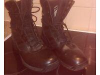 Mens Magnum genuine leather boots