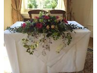 FREELANCE WEDDING AND EVENTS FLORIST