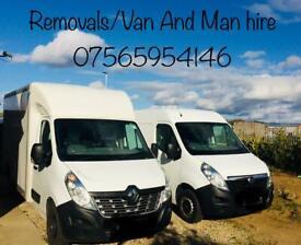 Removals/ Van And Man Hire