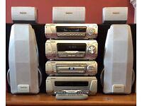 TECHNICS, SC-DV290 DVD HOME CINEMA & STEREO SYSTEM.