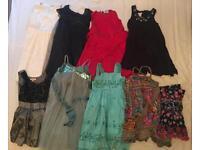 Girls 3-4 years old various dress x 8