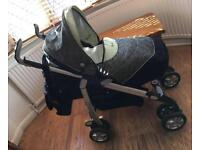 Open to Offers - Silver Cross Travel System 3D Pushchair with Ventura Car Seat