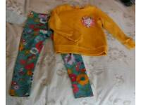 Girl's M&S Outfit (age 3-4, 4-5)