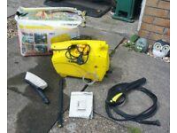 Karcher 411A Pressure Washer, Internal Leak, Accessories Supplied