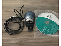 Quality Logitech web cam,quick sale at only £15,immaculate,no time wasters please,costs £48.95
