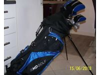 LEFT HAND SET of MD Golf Clubs