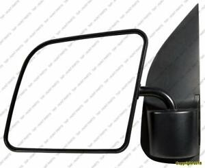 Door Mirror Manual Driver Side With Swing Lock Paddle Type/Flat Glass Ford Econoline 1992-2007
